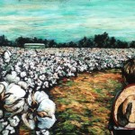 """Cotton Whispers, 24x36"""" soft pastel on board"""