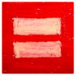 Marriage Equality, 3x3 pastel on card