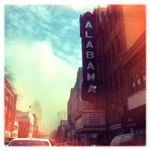 Alabama Theater, original photography