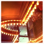 Alabama Theater entrance ceiling, original photography