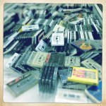 Mountains of tapes