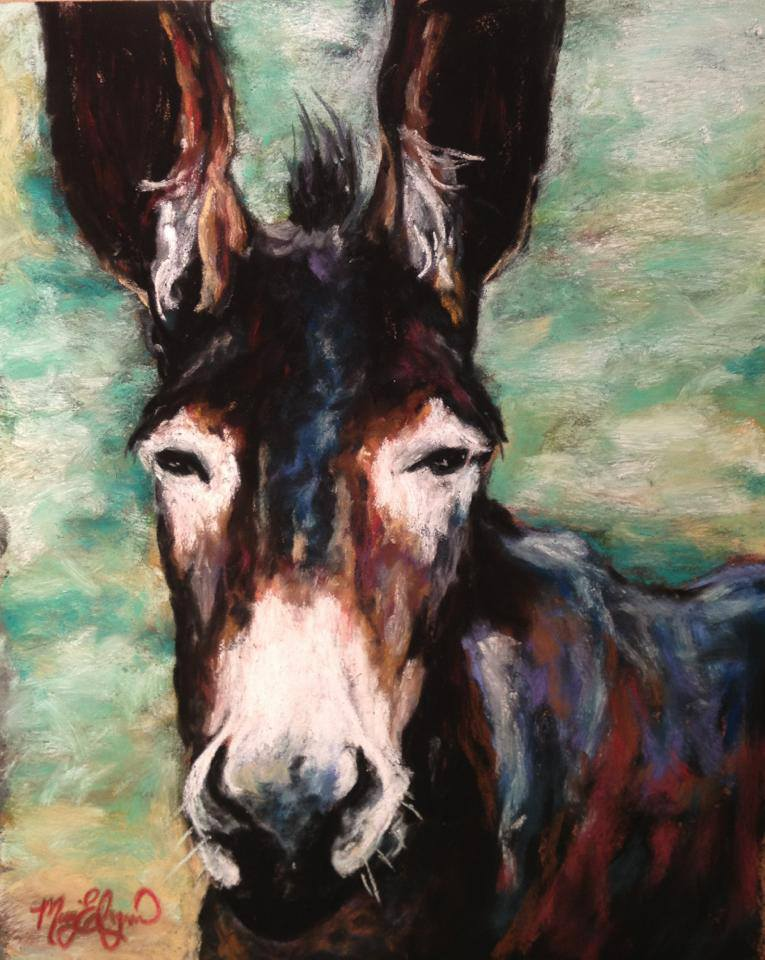 Horace, 8x10 pastel on card, $175 framed