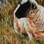 Autumn Grass, 9x12 pastel in frame.Was $225, now $110 SOLD