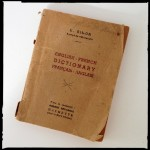 Grandfather's English-French Dictionary from WWII
