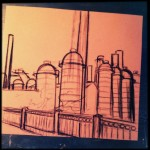 Sloss Furnace Sketch